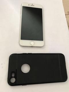 iPhone 7 32gb Silver Com Capa, Fone Nunca Usado Completo