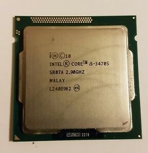 Intel Core I5-3470s Turbo 3.6 Ghz Socket Lga1155