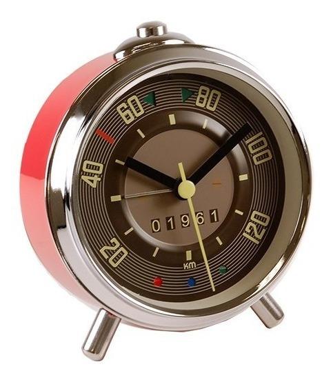 Reloj Despertador Vintage Volkswagen Bus Velocimetro Combi