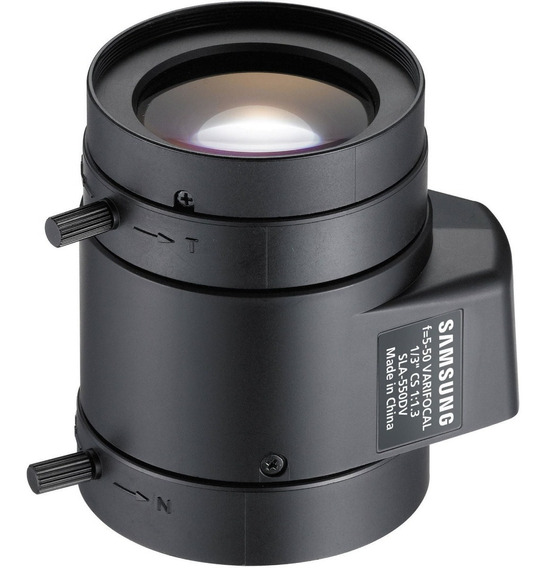 Lente Varifocal 50mm Samsung Sla-550dv Box*