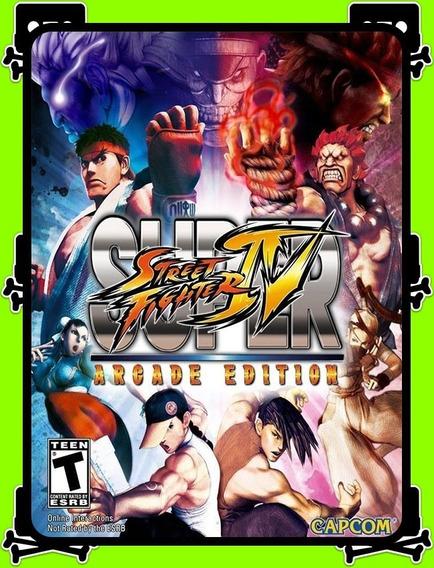 Street Fighter 4 Arcade Ed. Pc - 100% Original (steam Key)