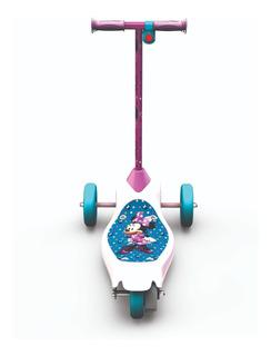 Patineta Eléctrica Minnie Mouse De 3 Ruedas, Scooter Disney