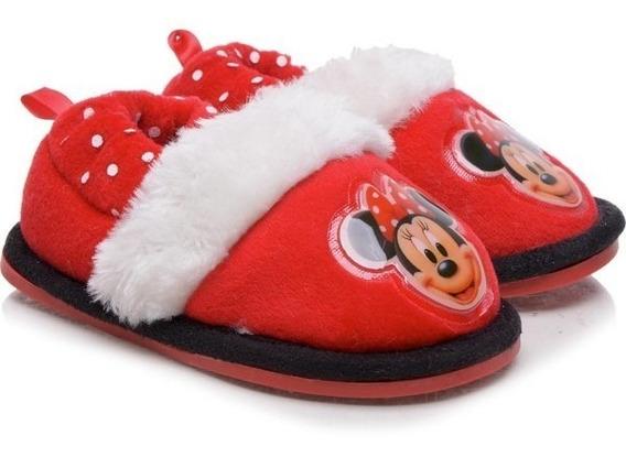 Pantufa Disney Minie Vermelha