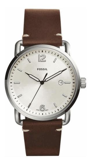 Relógio Masculino Fossil Com Data Novo