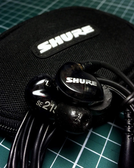 Fone In Ear Shure Se215 Original Retorno De Palco