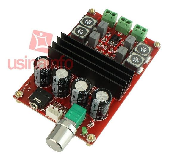 Placa Amplificador De Som Tpa3116d2 - Estéreo 2 Canais 100w