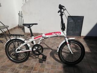 Bicicleta Plegable Skd Nogoya.