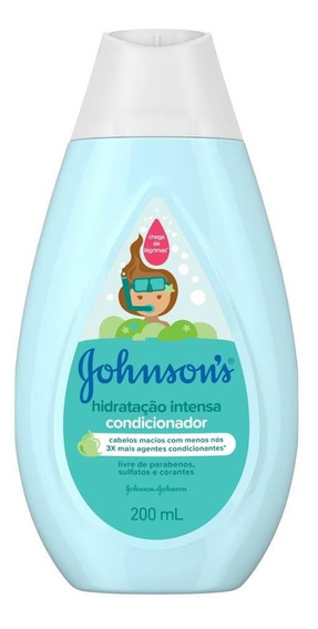 Condicionador Hidratação Intensa Johnsons Baby 200ml