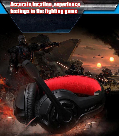 Fone Profissional Para Game Lupuss G1 Gaming Surround