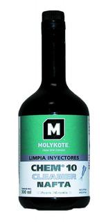 Limpia Inyectores Nafta Molykote 300ml Cleaner - Nolin