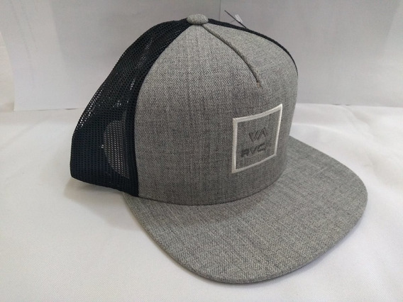 Boné Rvca Va All The Way Trucker Snapback Aba Reta Original