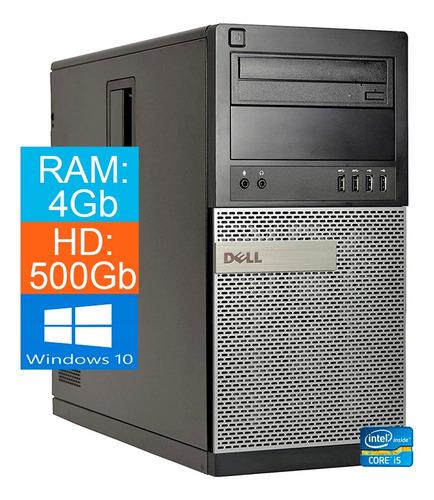 Imagem 1 de 3 de Pc Dell 790 Torre Core I5 2 Geração 4gb 500hd Win10 - Novo