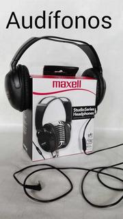 Audífonos De Estudio Con MicrófonoMarca. Maxell Nuevos Cómo