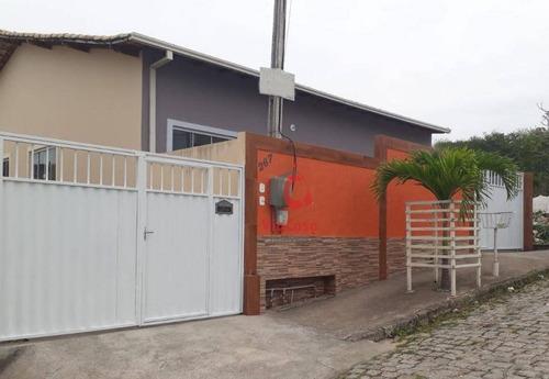 Casa Com 2 Dormitórios À Venda, 51 M² Por R$ 170.000,00 - Residencial Rio Das Ostras - Rio Das Ostras/rj - Ca2333