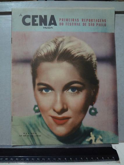 Revista A Cena Muda Nº 8 1954 Joan Fontaine