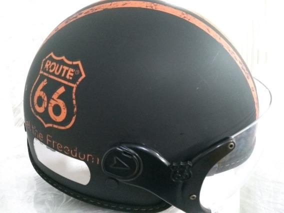 Capacete Kraft Route 66