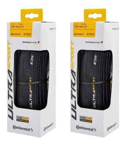 Imagem 1 de 5 de Pneu Continental Ultra Sport Iii 700x28  Preto Dobravel
