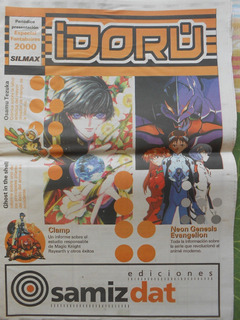 Revista Idorú - Animé / Manga - Tezuka, Clamp, Evangelion
