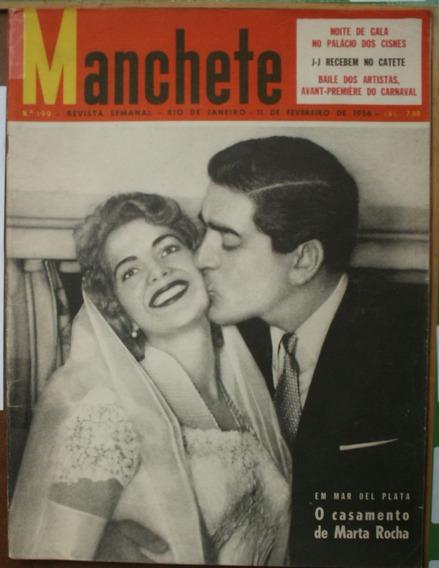 Manchete 1956 - Marta Rocha* Carnaval* Marlene* Paraná