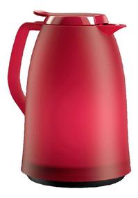 Emsa Garrafa Térmica De 1 Litro Vermelha Quick Tip Mambo Ems