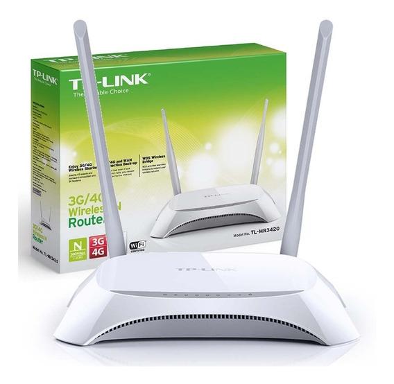 Tp-link Router Tl-mr3420 3g/4g Wifi N 300mbps