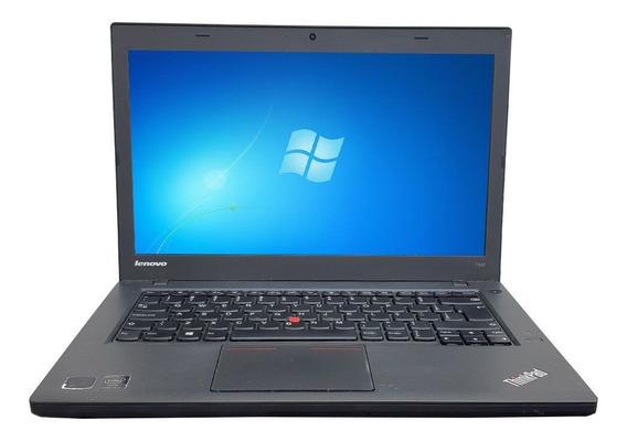 Notebook Lenovo Thinkpad T440 Core I5 4gb Ssd 240gb Wifi