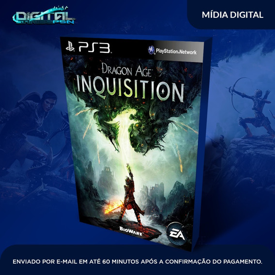 Dragon Age Inquisition Ps3 Jogo Digital Envio Agora!