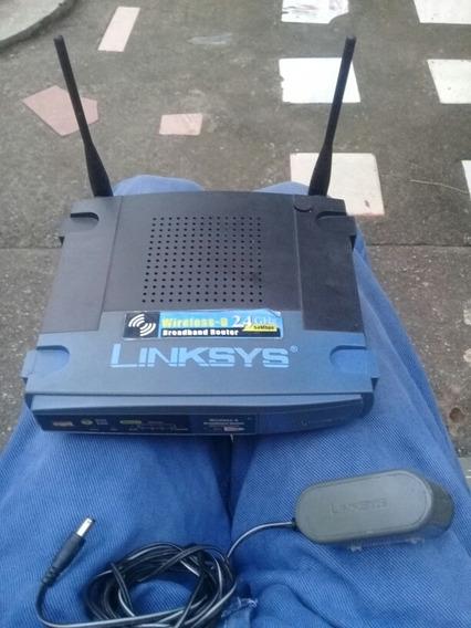 Wireless-g Broadband Router