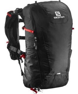 salomon agile 12 set mochila amarillo outdoor mochilas