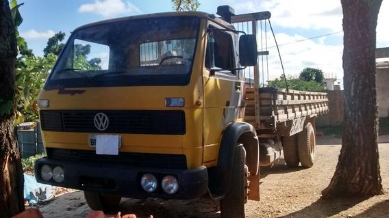 Caminhão Carroceria Vw1240/ 87 Motor Mwm 229