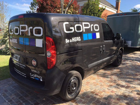 Camioneta Fiat Doblo Negra 2013