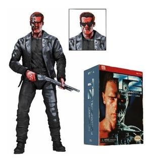 Figura De Coleccion Terminator 2 T 800 De 18cm Neca Baloo To
