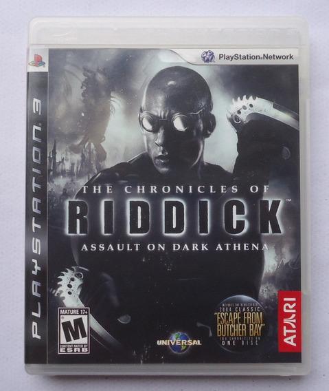The Chronicles Of Riddick Ps3 ** Frete Gratis Leia