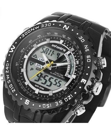 Reloj Para Hombre Infantry De Cuarzo Fuerza Aérea
