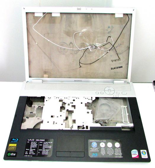 Carcaça Completa Sony Vaio Vgn-fz38m Pcg-3a1m