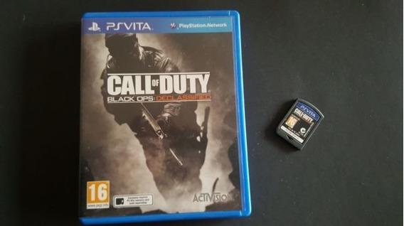 Call Of Duty Black Ops Ps Vita Semi Novo Original