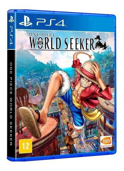 One Piece World Seeker - Ps4 - Mídia Física