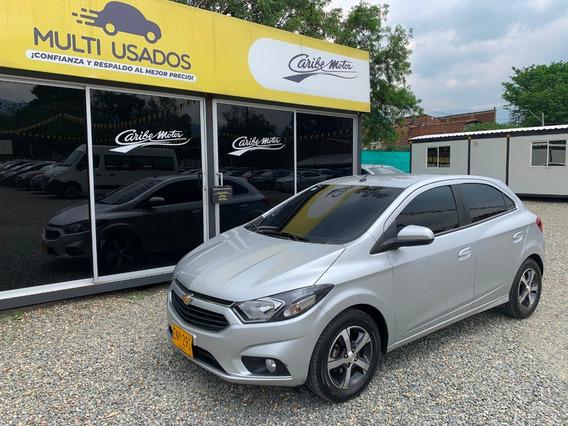 Chevrolet Onix Ltz Aut 1.4 Gris Estrella 2018 Eny291