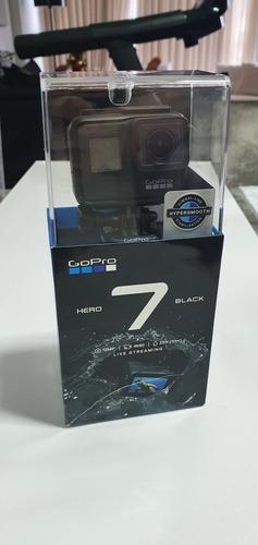 Gopro 7 Black + 3 Baterias + Na Caixa Original+ Carregador