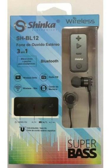 Fone De Ouvido Bluetooth 3x1