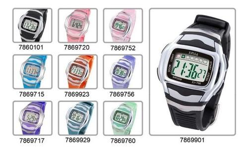 Reloj Xinjia Digital Resistente Ref Xj-786 Precio X Unidad