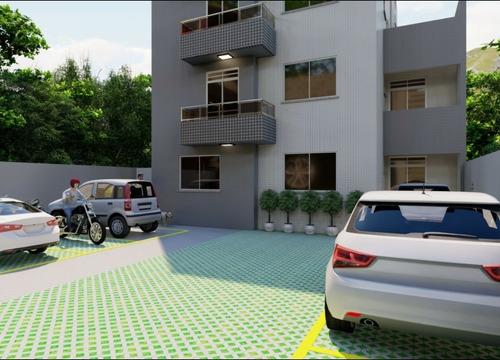 Imagem 1 de 11 de Apartamento - Padrão, Para Venda Em Contagem/mg - Imob1744