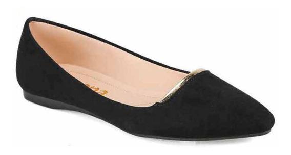 Zapatos Cerrados De Piso Modelo Savona 20180