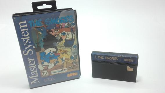 Jogo The Smurfs C/caixa Original Master System