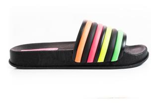 Sandalias Ojotas Mujer Zapatos Bajas Livianas Cómodas Moda