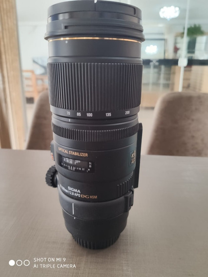 Lente 70-200 Sigma Para Canon