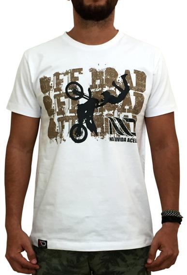 Camiseta Masculina - Offroad Motocross Freestyle Fmx Trilha