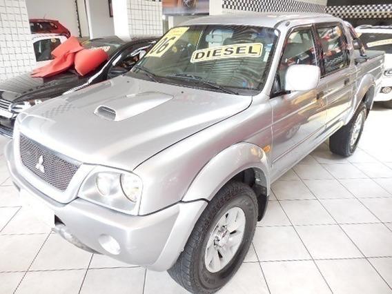 Mitsubishi L200 Manual 2.5 Sport Hpe Prata 4x4 Diesel 2006