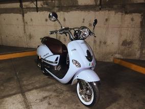 Moto Vitalia 125 Azul - 2017