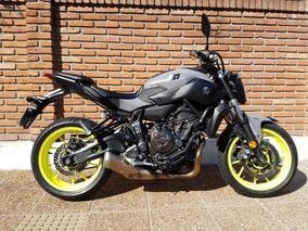 Yamaha Mt 07 Gris Negra Permuto Financio Qr Motors